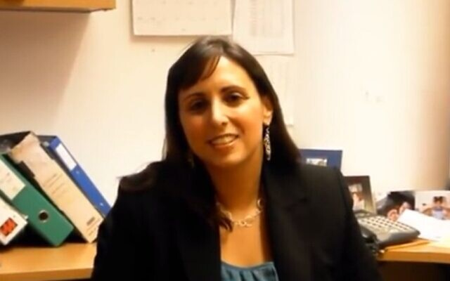 Sarah Weiss Maudi. (Capture d'écran/YouTube)