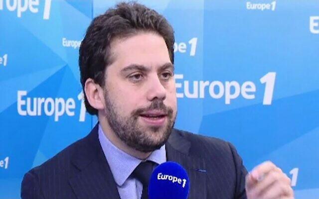 L'avocat Patrick Klugman. (Capture d'écran YouTube / Europe 1)
