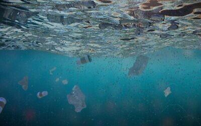Des déchets plastiques dans la mer. (dottedhippo/iStock by Getty Images)