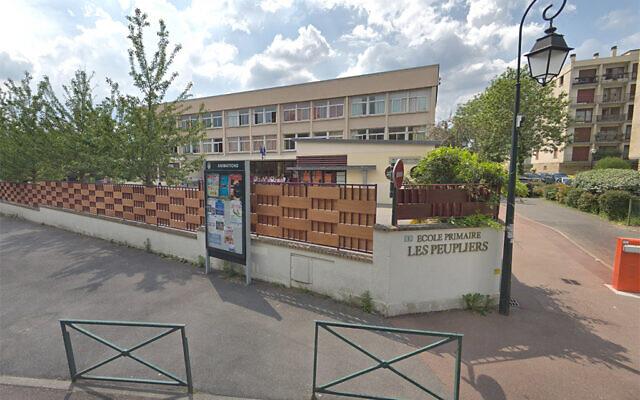 L'école des Peupliers à Vaucresson. (Capture écran Google)