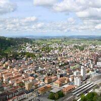 La ville suisse deLa Chaux-de-Fonds. (Crédit : Jérémy Toma/ CC BY-SA 4.0)
