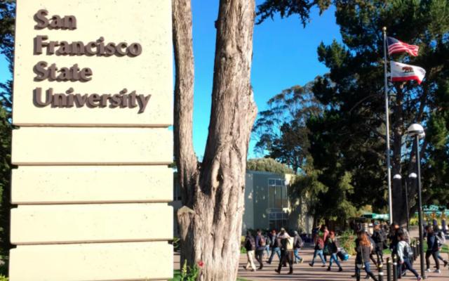 L'université d'État de San Francisco. (Autorisation/J. the Jewish News of Northern California via JTA)