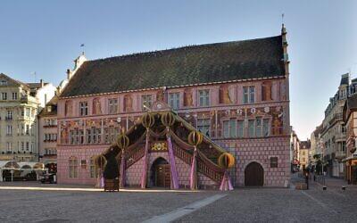 Illustration : l'hôtel de ville de Mulhouse. (Crédit : CC BY-SA 3.0)