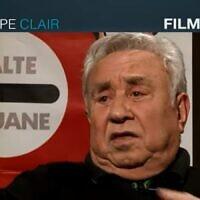 Le réalisateur Philippe Clair. (Capture d'écran YouTube)
