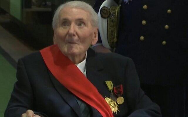 Hubert Germain, compagnon de la libération. (Crédit : AFPTV)
