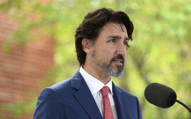Le Premier ministre canadien Justin Trudeau. (Justin Tang/The Canadian Press via AP)