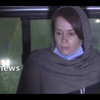 L'universitaire britanno-australienne Kylie Moore-Gilbert est vue à Téhéran, en Iran. (Télévision d'État iranienne via AP)
