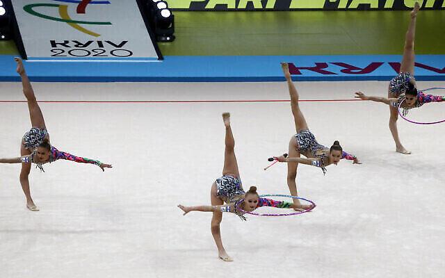 Israel wins gold on the European Rhythmic Gymnastics Championships