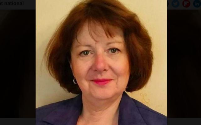 Brigitte Nédelec, conseillère régionale RN des Pays de la Loire. (Crédit : Photo de campagne / Brigitte Nédelec)