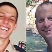 Les victimes de l'accident d'avion de l'armée israélienne le 24 novembre 2020 : le commandant Itai Zayden (à droite) et le caporal Lihu Ben-Bassa (à gauche). (Crédit  : Facebook)