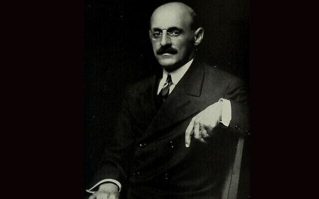 """Abraham Flexner, considéré comme le """"père"""" de l'enseignement médical moderne. (Crédit : Wikimedia commons via JTA)"""