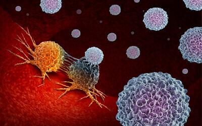 Illustration : Cellules cancéreuses à l'intérieur du corps. (wildpixel ; iStock de Getty Images)