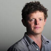 "Tom Burgis, auteur de ""Kleptopia"". (Photo de Charlie Bibby)"