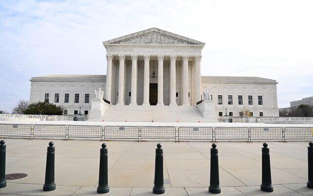 La Cour suprême des États-Unis à Washington, le 7 décembre 2020. (Crédit : MANDEL NGAN / AFP)