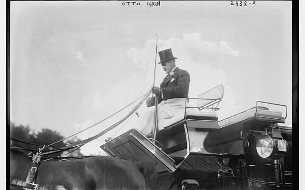 Otto Hermann Kahn au Morristown Field Club, le 25 septembre 1913. (Domaine public via wikipedia)