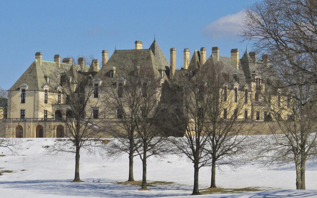 Le château d'Oheka à Huntington, New York, en 2014. (AP Photo/Frank Eltman)