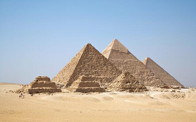 Les pyramides de Guizeh, Egypte. (Wikipédia CC BY-SA 2.0)