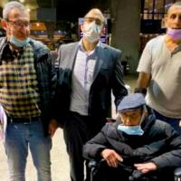 Meir Halimi durant son voyage en Israël. (Crédit : Qualita)