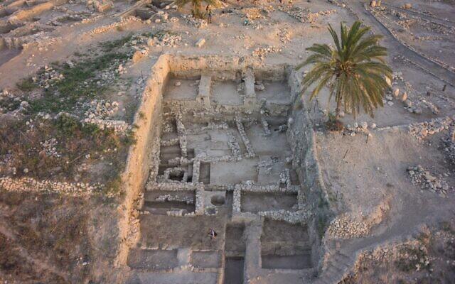 Vue de Megiddo. (Expédition Megiddo)