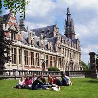 La faculté de droit de l'université libre de Bruxelles. (Crédit : Meusulb2013/ CC BY-SA 3.0)