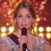 April Benayoum, élue Miss Provence. (Capture d'écran YouTube)