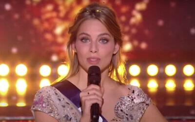 April Benayoum, élue Miss Provence.. (Capture d'écran YouTube)