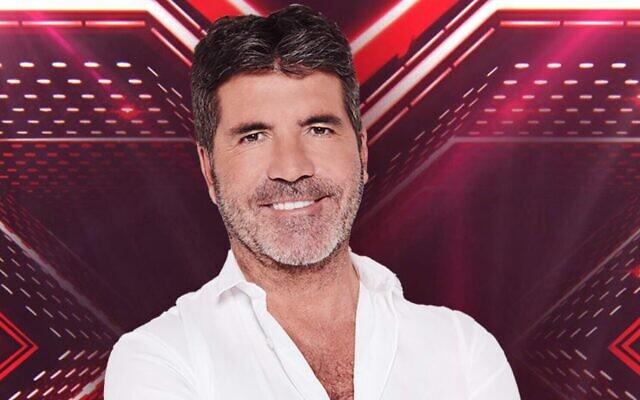 """Le magnat de la télé-réalité Simon Cowell rejoindra la version israélienne de """"X-Factor"""" en tant que juge dans la nouvelle saison (Crédit ; X-Factor Israel)"""