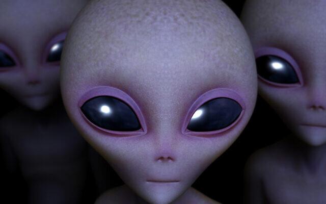 Représentation populaire des extraterrestres. (Crédit : Bertos via iStock by Getty Images)