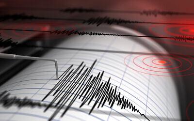 Photo d'illustration : Un séismographe avec rendu 3D (Crédit : Petrovich9; iStock by Getty Images)