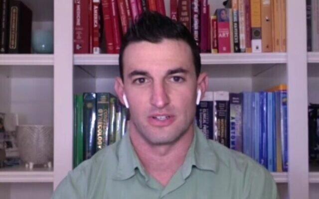 Taylor Nichols, médecin en Californie, dans une interview avec ABC News. (Capture d'écran)