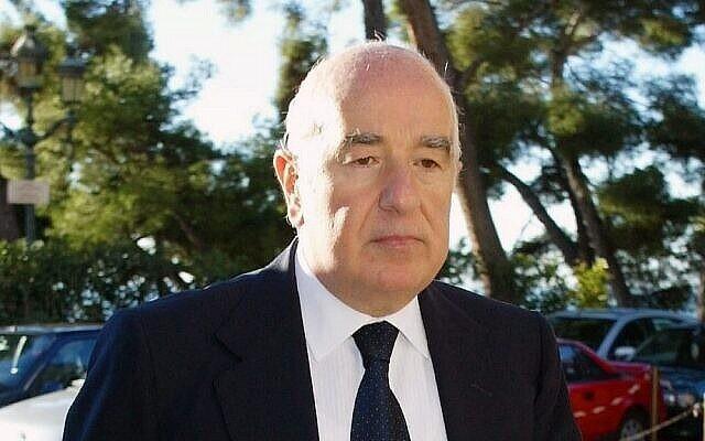 Joseph Safra en 2002 (AP Photo / Lionel Cironneau)