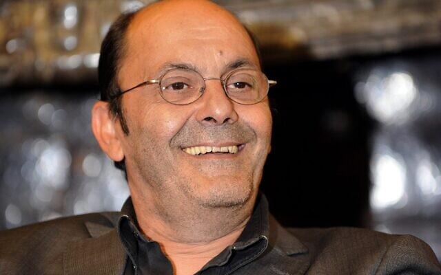 """Sur cette photo prise le 27 août 2008, l'acteur français Jean-Pierre Bacri participe à une conférence de presse avant la projection du film d'Agnès Jaoui """"Parlez-moi de la pluie"""" à l'hôtel Gantois à Lille. (Crédit: FRANCOIS LO PRESTI / AFP)"""