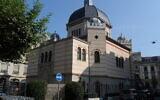 La synagogue Beth-Yaacov de Genève. (Crédit : Mourad Ben Abdallah/ Wikimedia Commons / Domaine public)