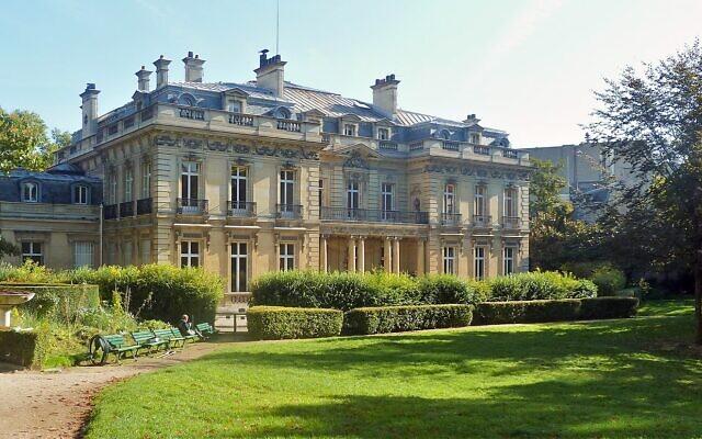 L'Hôtel Salomon de Rothschild. (Crédit : Wowo2008/ CC BY-SA 4.0)