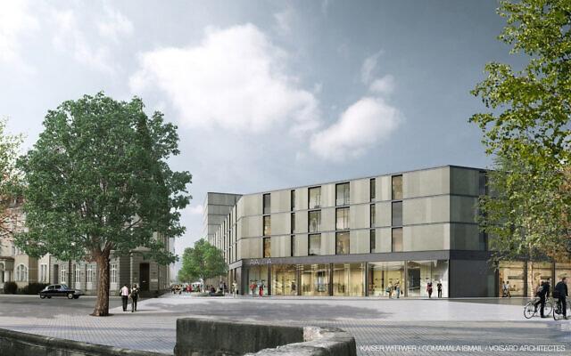 Le futur centre culturel juif de Boulogne-Billancourt (Hauts-de-Seine).(Crédit : Association Culturelle Juive de Boulogne Billancourt)