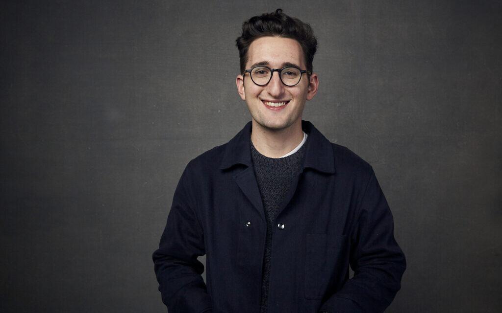 """Le réalisateur lors de la promotion du film """"Some Kind of Heaven"""" au Music Lodge lors du festival du film de Sundance à Park City, dans l'Utah, le 27 janvier 2020. (Crédit :  Taylor Jewell/Invision/AP)"""
