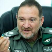 Kobi Shabtai, nouveau chef de la police par intérim, 28 septembre 2017. (Moshe Shai / Flash90)