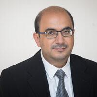 Le député de la Liste arabe unie Sami Abou Shahadeh, le 25 septembre 2019. (Crédit :  Hadas Parush/Flash90)