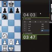 Des joueurs d'échecs bhoutanais et israéliens lors d'un match amical en ligne le 21 janvier 2021, quelques semaines seulement après que les deux pays ont établi des relations diplomatiques. (Autorisation Chess4All)