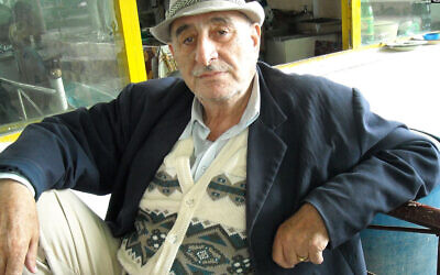 Jura Abaev à Khujand, Tadjikistan. (Autorisation/Radio Free Europe Radio Liberty via JTA)