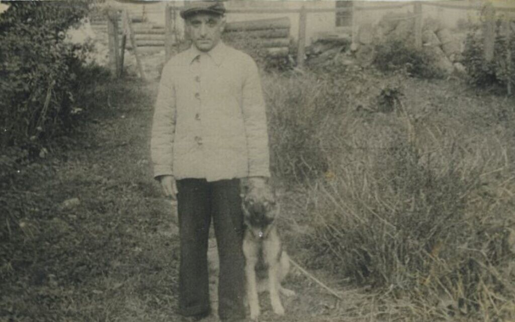 Après la guerre, Herman Likwornik  était revenu dans sa ville natale qui avait intégré l'URSS et qui est maintenant connue sous le nom de Kalush. Une photo prise en 1947. (Autorisation : Victor Likwornik)