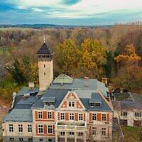 """Le lieu de tournage du """"Queen's Gambit"""", Schloss Schulzendorf en Allemagne, près de Berlin, novembre 2020. (Autorisation de Felipe Tofani/Fotostrasse.com)"""
