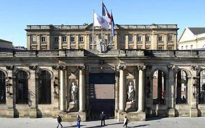 L'hôtel de ville de Bordeaux. (Crédit : Bordeaux.fr)