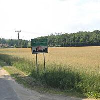 L'entrée du village de Malinowo, en Pologne. (Crédit : Google Maps)