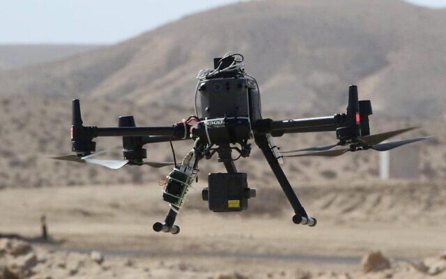 La start-up israélienne Sightec a développé un logiciel permettant de diriger des drones civils vers leur destination sans utiliser de signaux GPS. (Dror Ben David, Matrix)