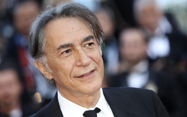 L'acteur français Richard Berry lors de la cérémonie d'ouverture de la 70e édition du Festival de Cannes, le 17 mai 2017. (Crédit : Valery HACHE / AFP)