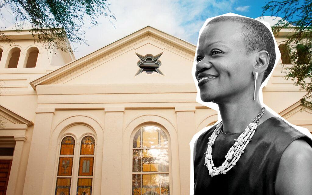 Gugulethu Moyo est la nouvelle directrice exécutive du Tucson Jewish History Museum/Holocaust History Center. (Illustration par Grace Yagel/ JTA)