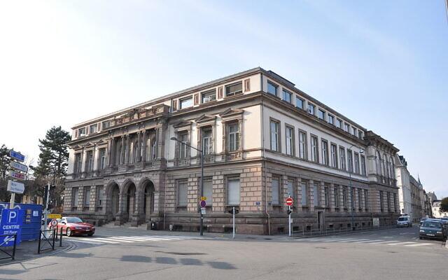 Le tribunal de grande instance de Mulhouse. (Crédit : M.Strīķis / CC BY-SA 3.0)