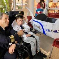 Pourim célébré en 2020 par l'ONG israélienne Beit Issie Shapiro. (Crédit : Beit Issie Shapiro / Facebook)