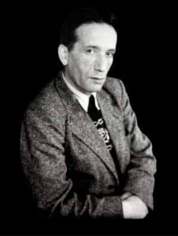 Joseph Gottfarstein, représentant de l'intelligentsia juive lituanienne. (Crédit : Samuel Gottfarstein/DR)